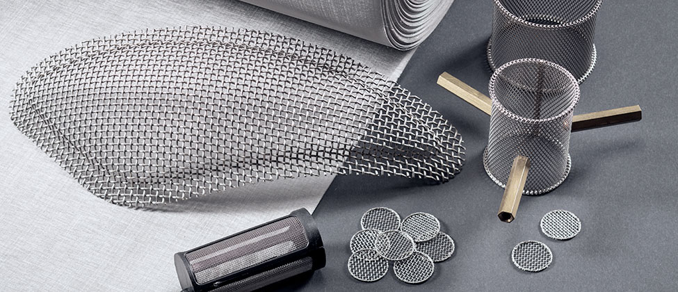 home page stainless steel mesh header image