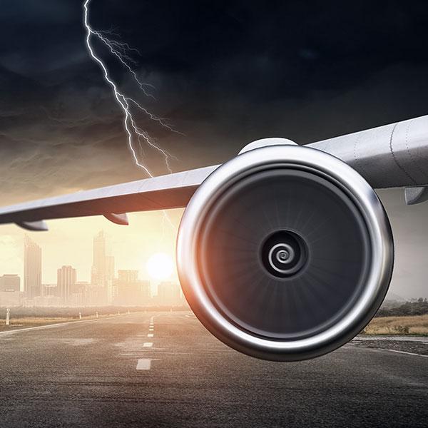 aerospace plane engine and wing