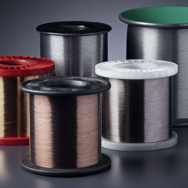 spools of electrical fine wire