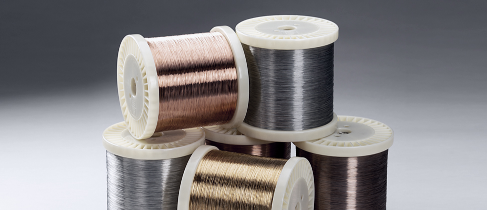home page fine wire spools header image