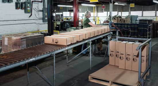 customized packaging and kitting for fabricated goods