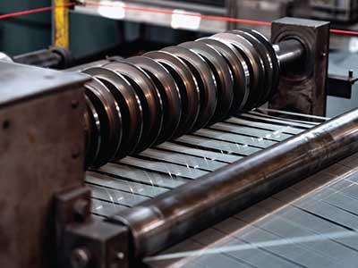 Gang Roller Slitter for wire mesh