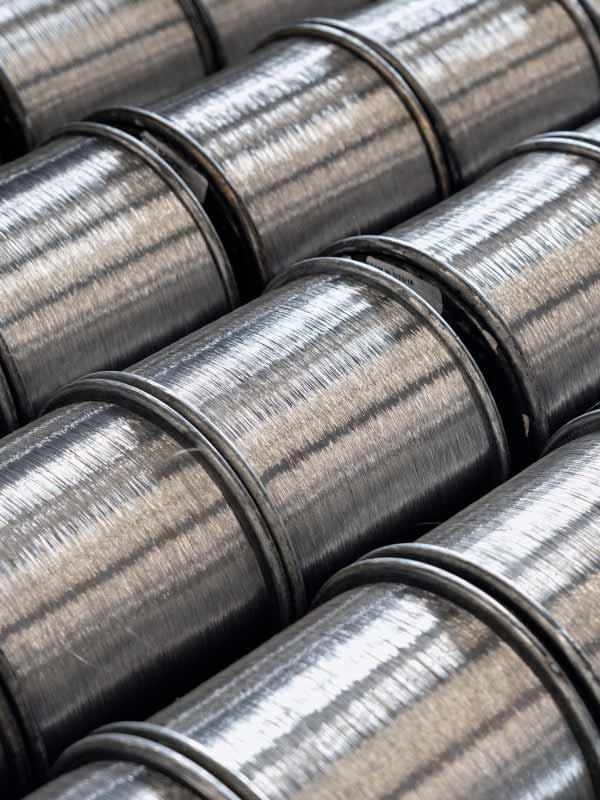 aluminum fine wire spools